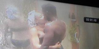 #BBNaija3 Miracle and Nina Shower Kiss