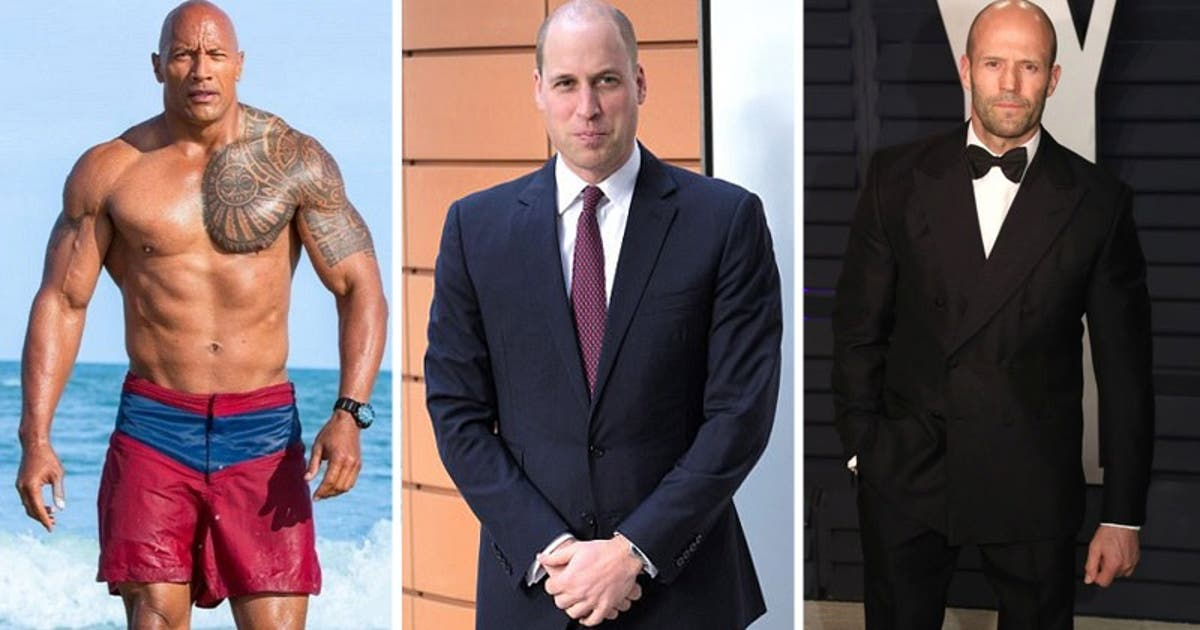 Prince William is the World's Sexiest Bald Man
