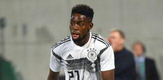 Germany's Olympic football team + Racial Abuse