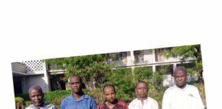5 Gay Men Arrested