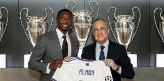 David Alaba Unveiled At Real Madrid