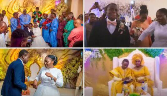 Deeper life wedding